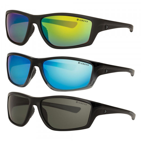 Greys g3 solbrille. Polarisert. Greys G3 Black  Fade ramme /Blue Mirror glass