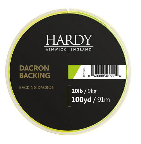 Hardy® Lime Green Backing 20lb/9kg.91meter