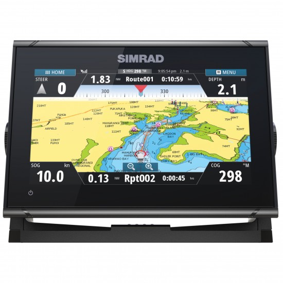 Simrad GO9 XSE med Activeimaging Hekkgiver