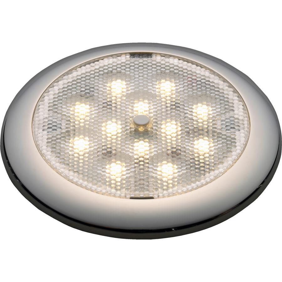 Stokken Båt og Motor | Lampe hvitblå LED mbryter, Procyon