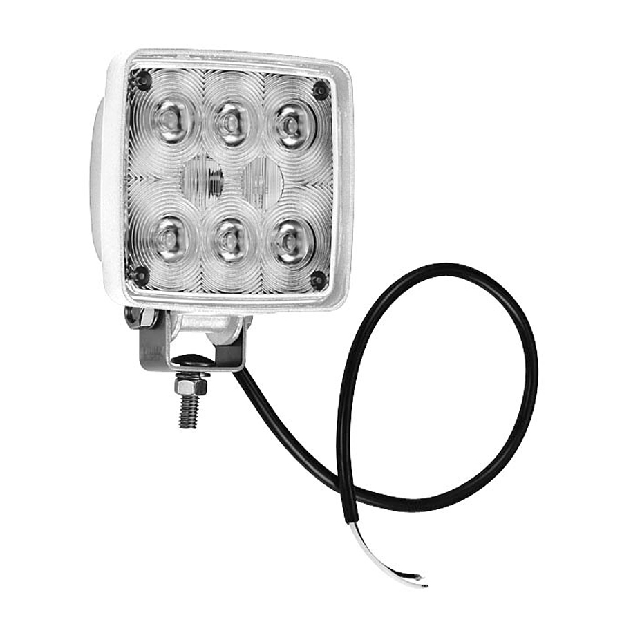 Dekkslys, LED, 11W, 9-36V, Flood-/Spotlight