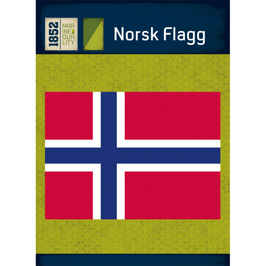 Norsk flagg, 1852